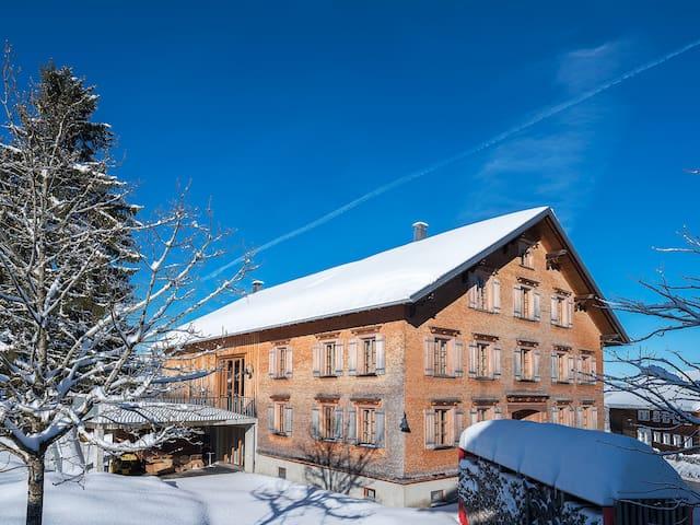 Ferienhaus Bregenzerwald Waelderhus Tamegger