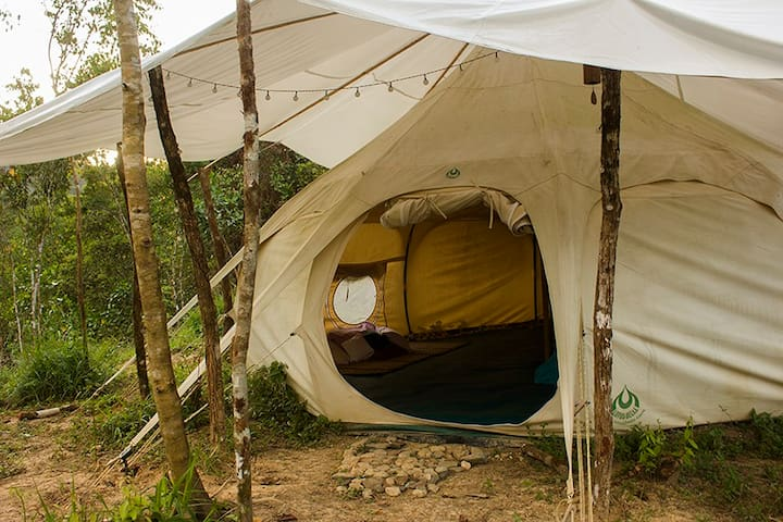 Glamping at a Wellness & Permaculture Center