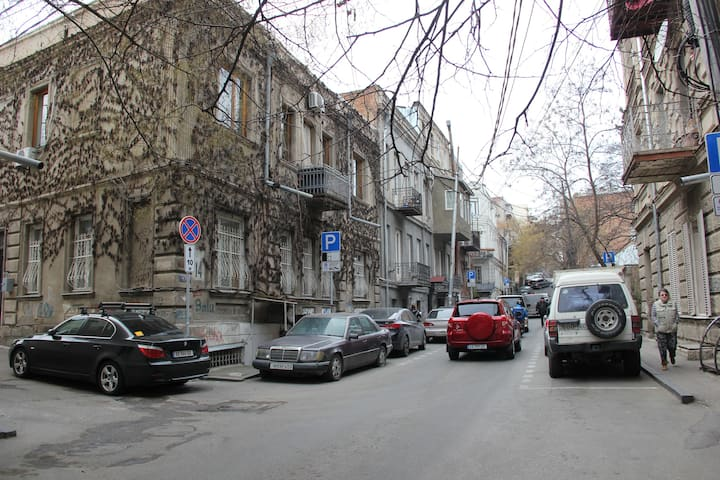 100 steps to old tbilisi