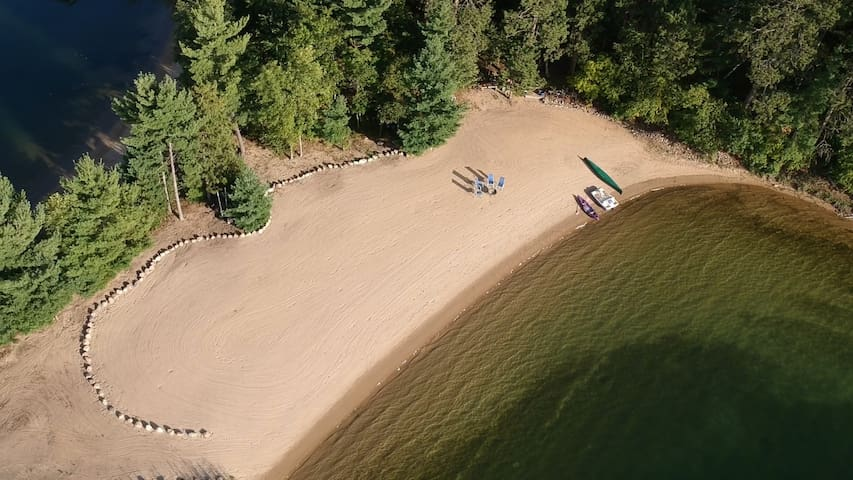 Great Family Cabin Getaway with an AMAZING Beach!