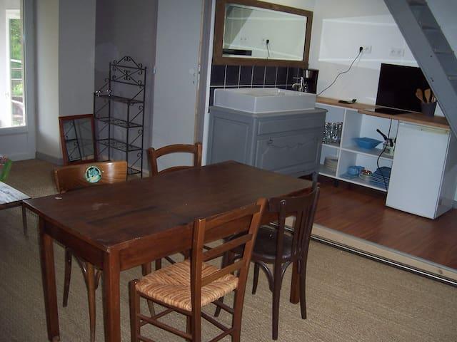 Gite le martin pêcheur à l'étage 1 chambre 2-4pers - Lignol - Apartment