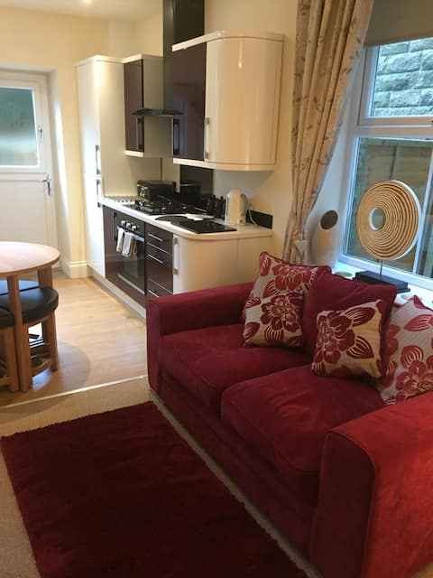 The Cobbles.Buxton Spa Town, 1 bed ground floor