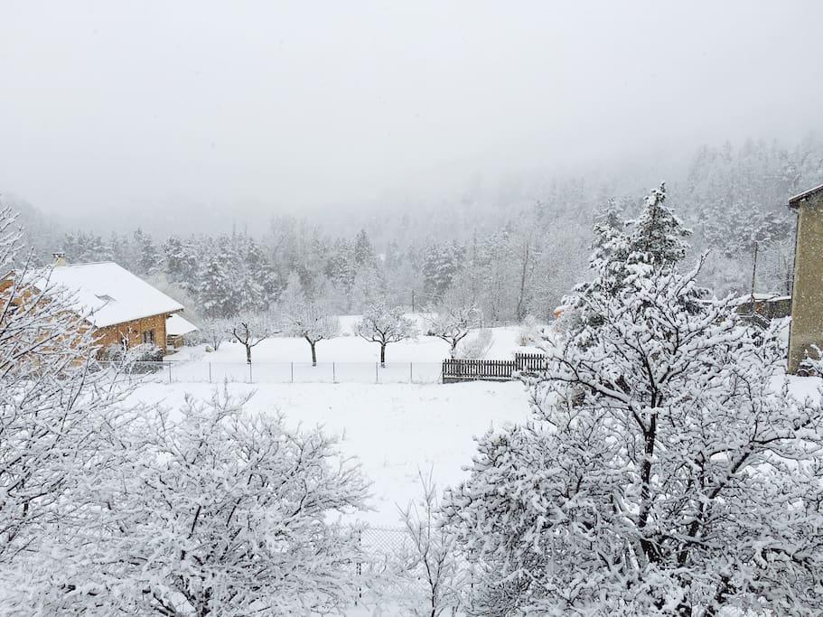 C'est l'hiver ; )