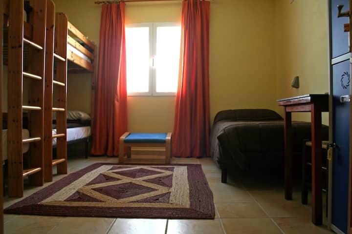 habitacion para cinco