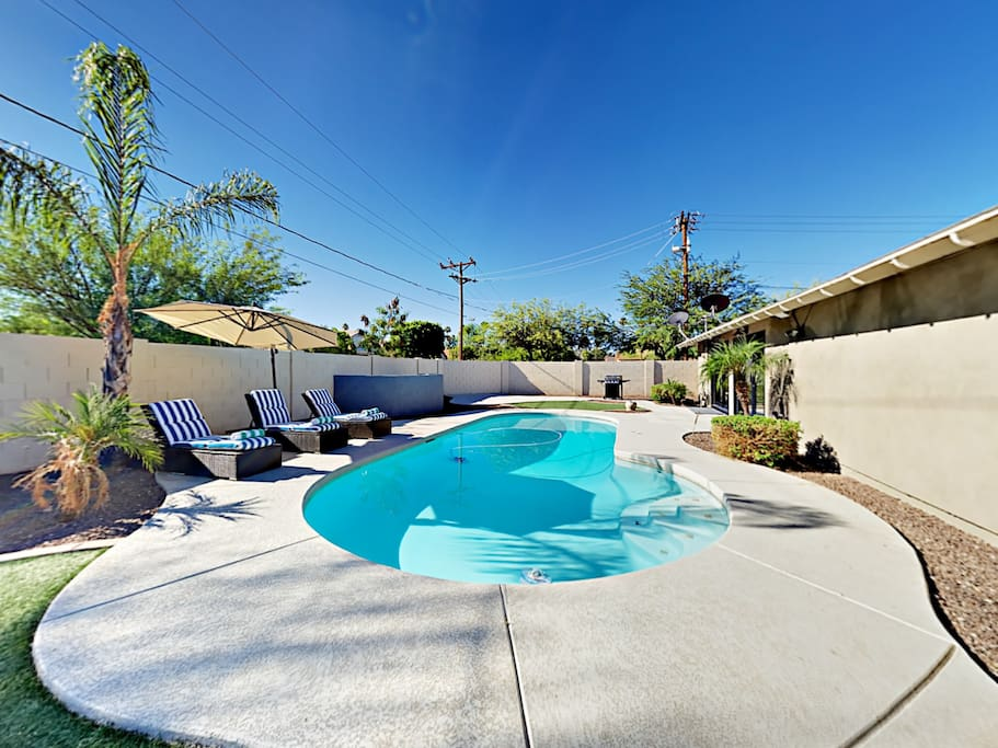Cool off from the Arizona sun and take a refreshing dip in the pool.