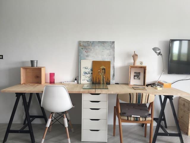極簡之宜家駭客 Minimalist Ikea hacker 32m2 - 高雄市 - Flat