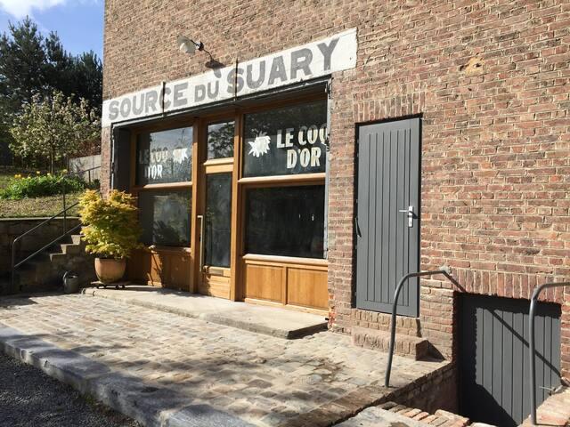 Menthinette du Suary gîte de charme Wépion - Namur - House