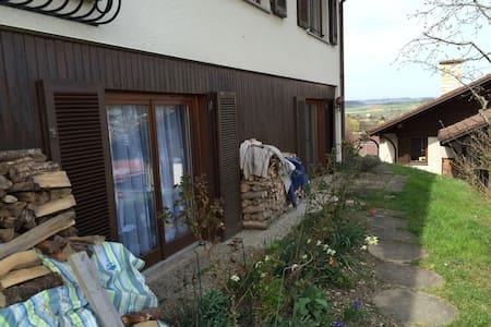 Ruhiges Zimmer in Steißlingen - Steißlingen - Daire