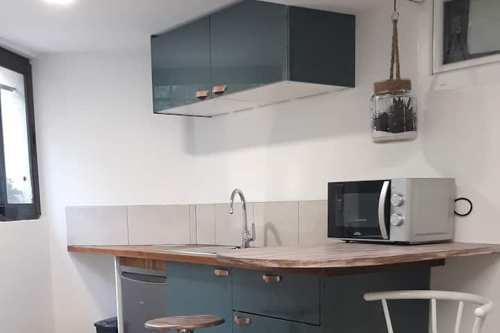 Studio Rez de Villa Montpellier Lepic Esma