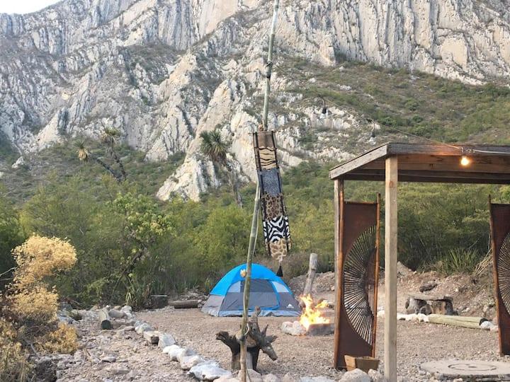 """""""El Nido del Águila Zona de acampar"""""""