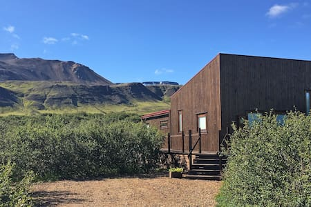 Luxury Cabin close to Reykjavik - Borgarnes