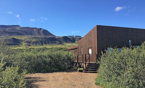 Luxury Cabin close to Reykjavik
