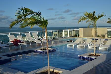 Apartamento Luxuoso JTR - Beira Mar de Maceió - Maceió - 公寓