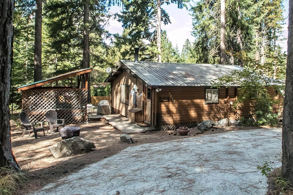 A peace of pine cabins for rent in leavenworth for Leavenworth cabin rentals
