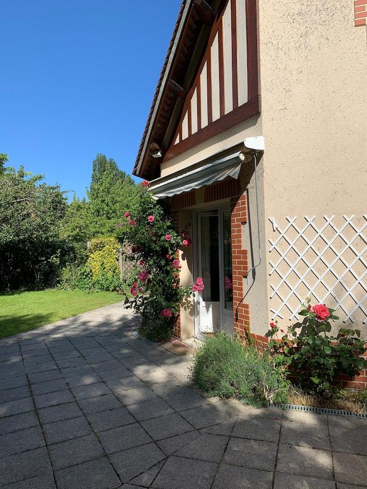 Charmante maison en résidence privée
