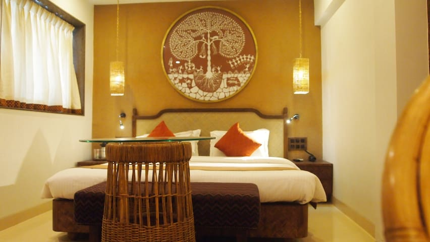 Budget & Eco-friendly Rooms in Hotel - Βομβάη - Bed & Breakfast