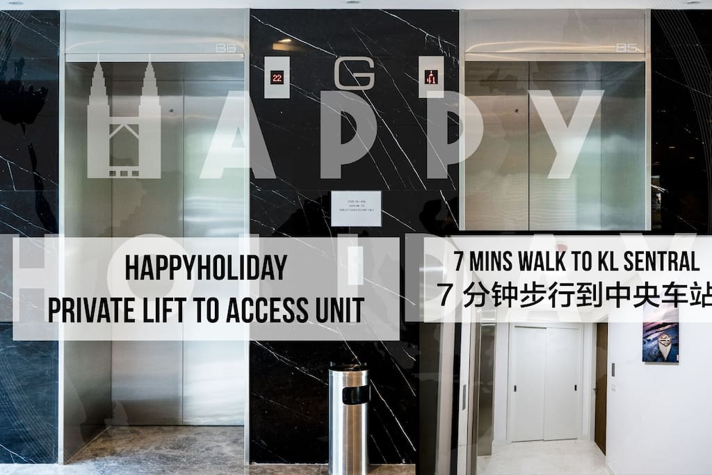 HIGHLIGHT: Private lift access to unit