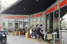 If you want to stay fit, you have a gym close to home