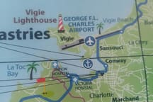 Close to GFL Charles airport.