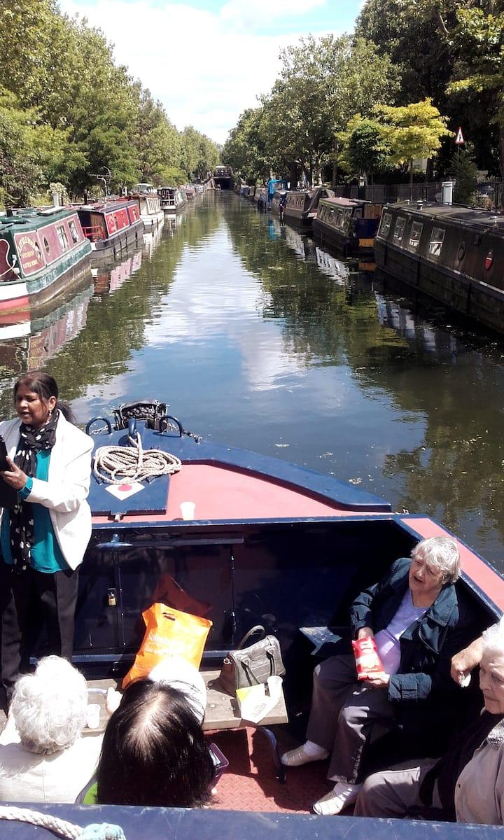 Leaving Little Venice