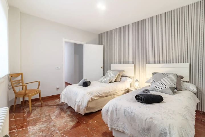 Second Bedroom(two single beds)