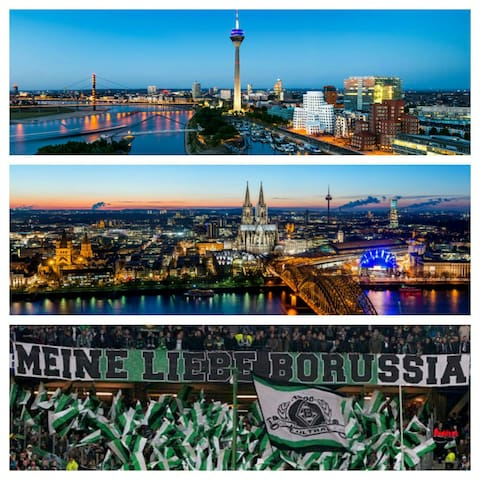 Im Zentrum von Mönchengladbach - Mönchengladbach