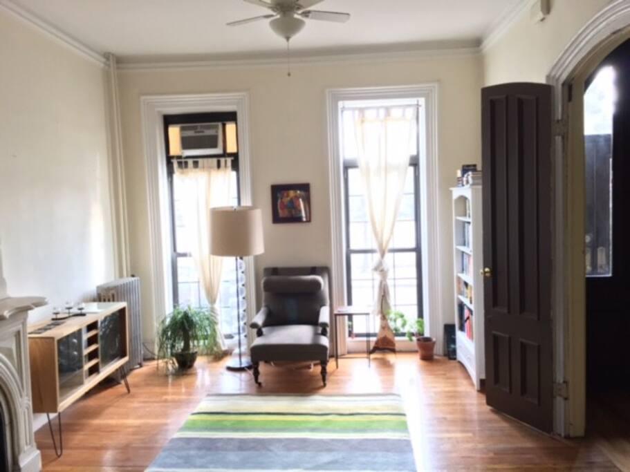 Master bedroom seating area (top floor)