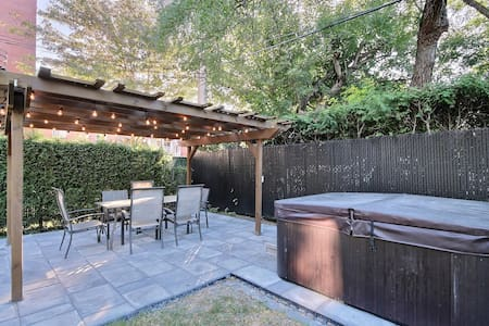 Amazing House, Hot Tub, 20m to Downtown - Montreal - Casa