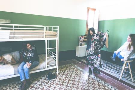 4 Bed Female Dorm @ SanVito Hostel