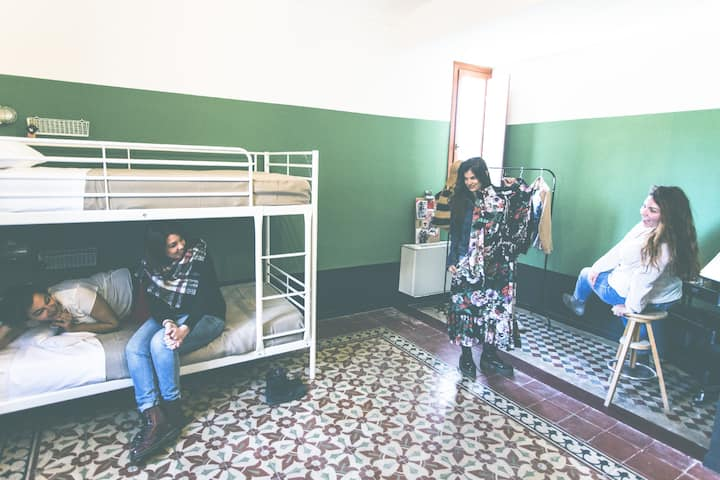 4Bed Female Dorm @ SanVito Hostel