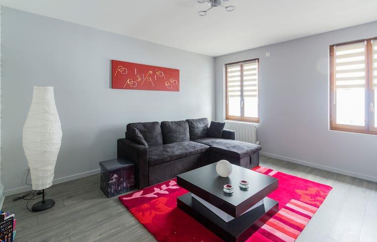 Appt. F3 neuf (73m²) - 6 pers  La Bresse Vosges - Cornimont - Apartment