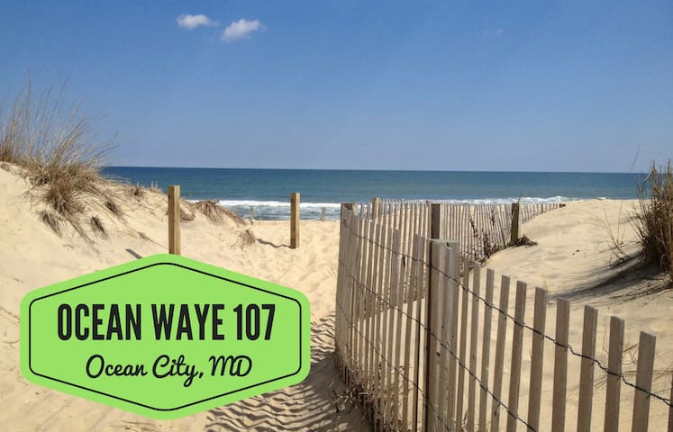 Ocean Waye 107; 45th St Seaside Condo
