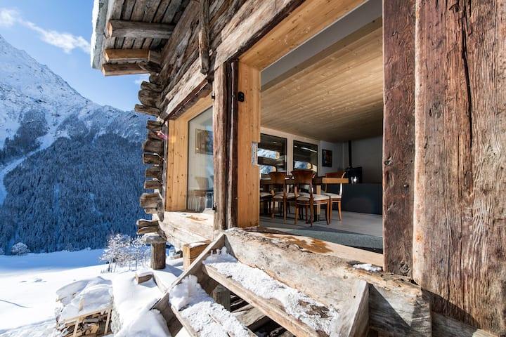 mayen à Joseph, Val d'Herens, Valais, Sion, Suisse
