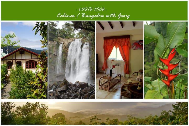 Kostaryka Magiczne Noclegi i Wodospad Nauyaca