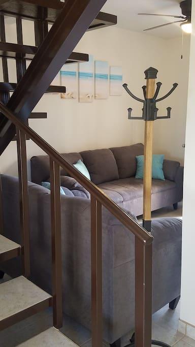 Coat Hanger in Living Room