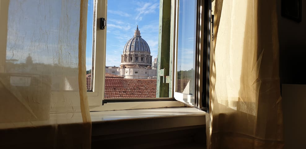 St. Peter's Basilica Dome from the window