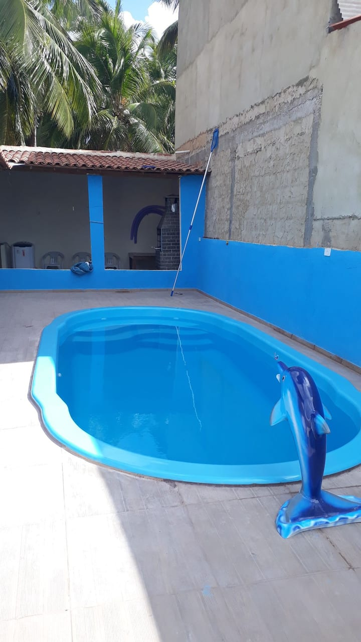 Casa em Maragogi c/Piscina Fica 5 min de antunes