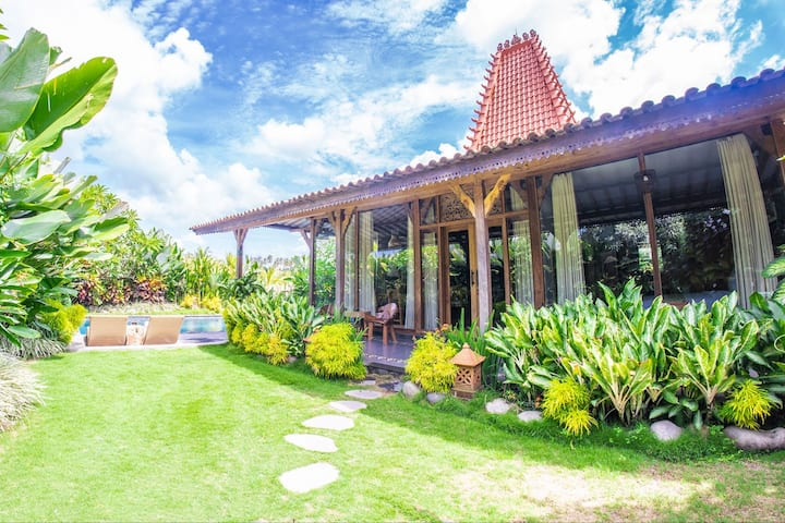 ★3BD★ Private Villa with Pool/View/10min Tanah Lot