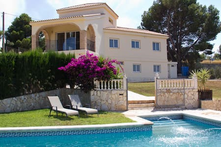 Spanish Villa with Large Private Pool, Valencia,