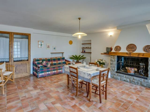 Villa Patrizia: Tuscany Farmhouse - Terontola Alta - Apartment