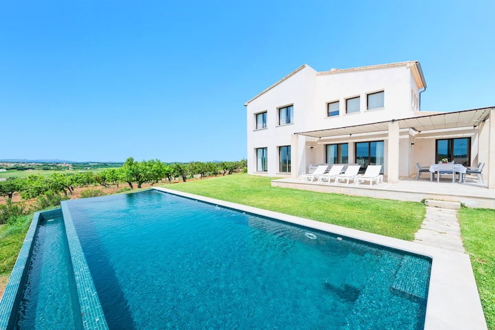 CAN SAL  - Villa with private pool in ARIANY. Free WiFi