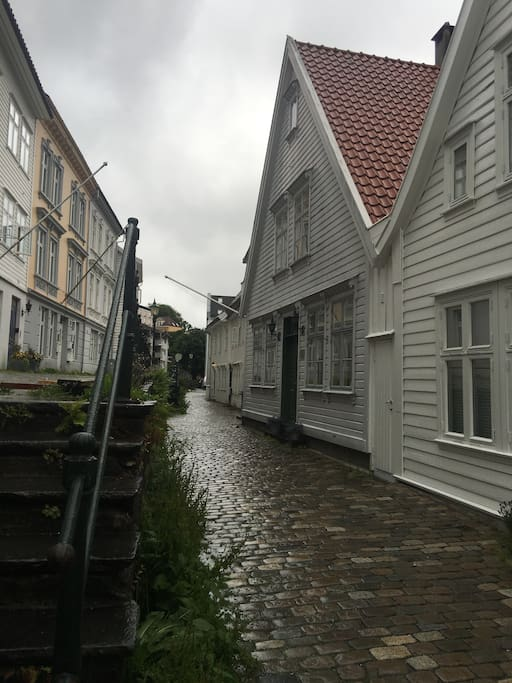Yes, it also rains in Bergen occasionally...