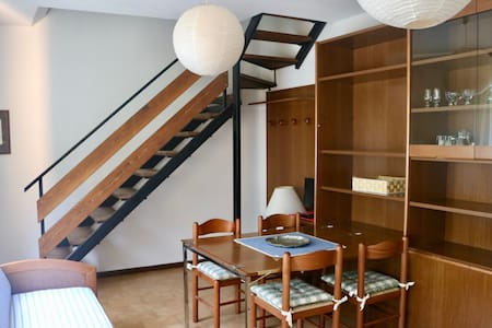 Cozy apartment developed on two floors