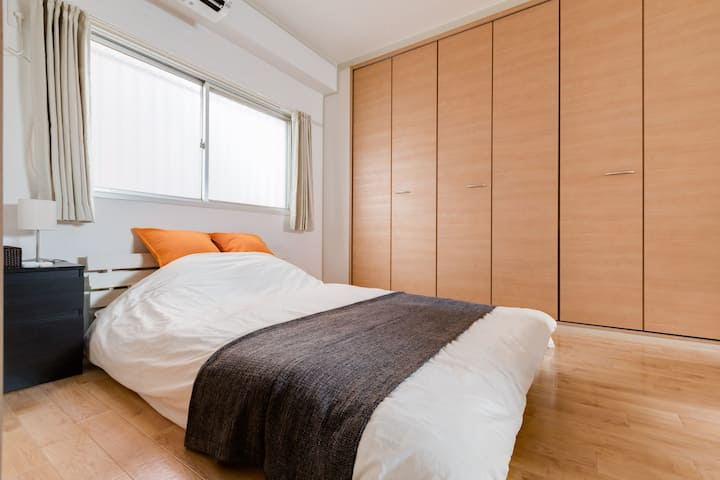 ROOM for 5ppl In AWESOME LOCATION with POCKET wifi