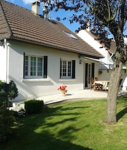 Private floor 60m2 - House 10km from Parc Asterix - Marly-la-ville - Hus