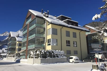 Room(s) in spacious apartment in great location - Engelberg
