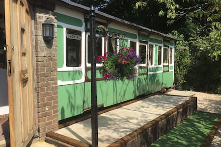 Charming Victorian Train Carriage - Brighton - Trem