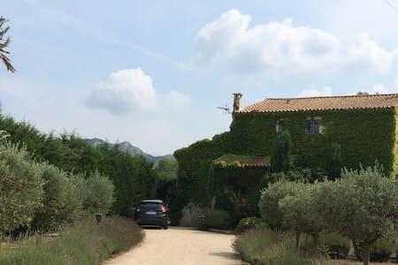 Charming Mas with Alpilles views - Eygalières