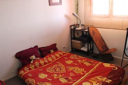 Bedroom near Massy-Palaiseau railway station/TGV - Apartmen