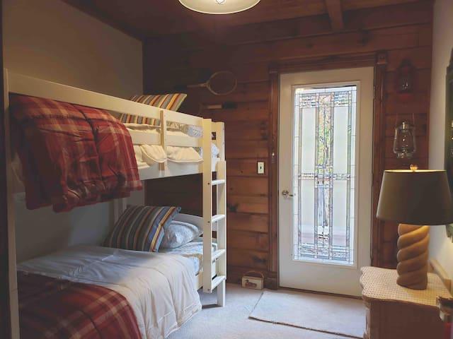 Main floor bunk room